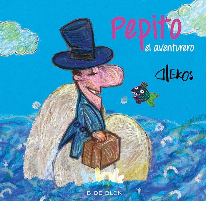 Portada de Pepito el aventurero de Alekos