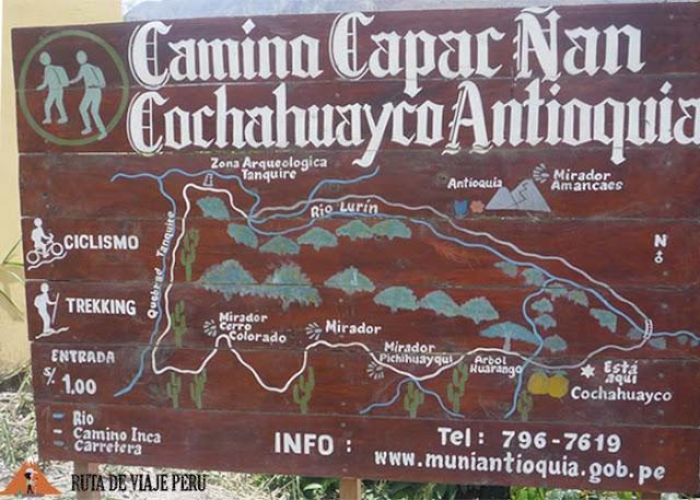 MAPA INCA COCHAHUAYCO