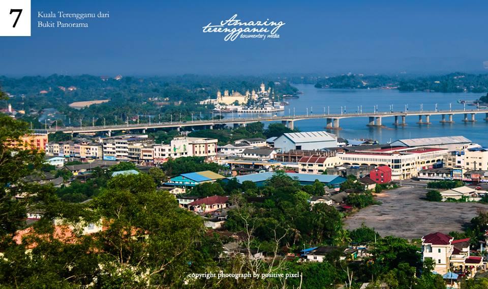 Permandangan Kuala Terengganu Dari Bukit Panorama