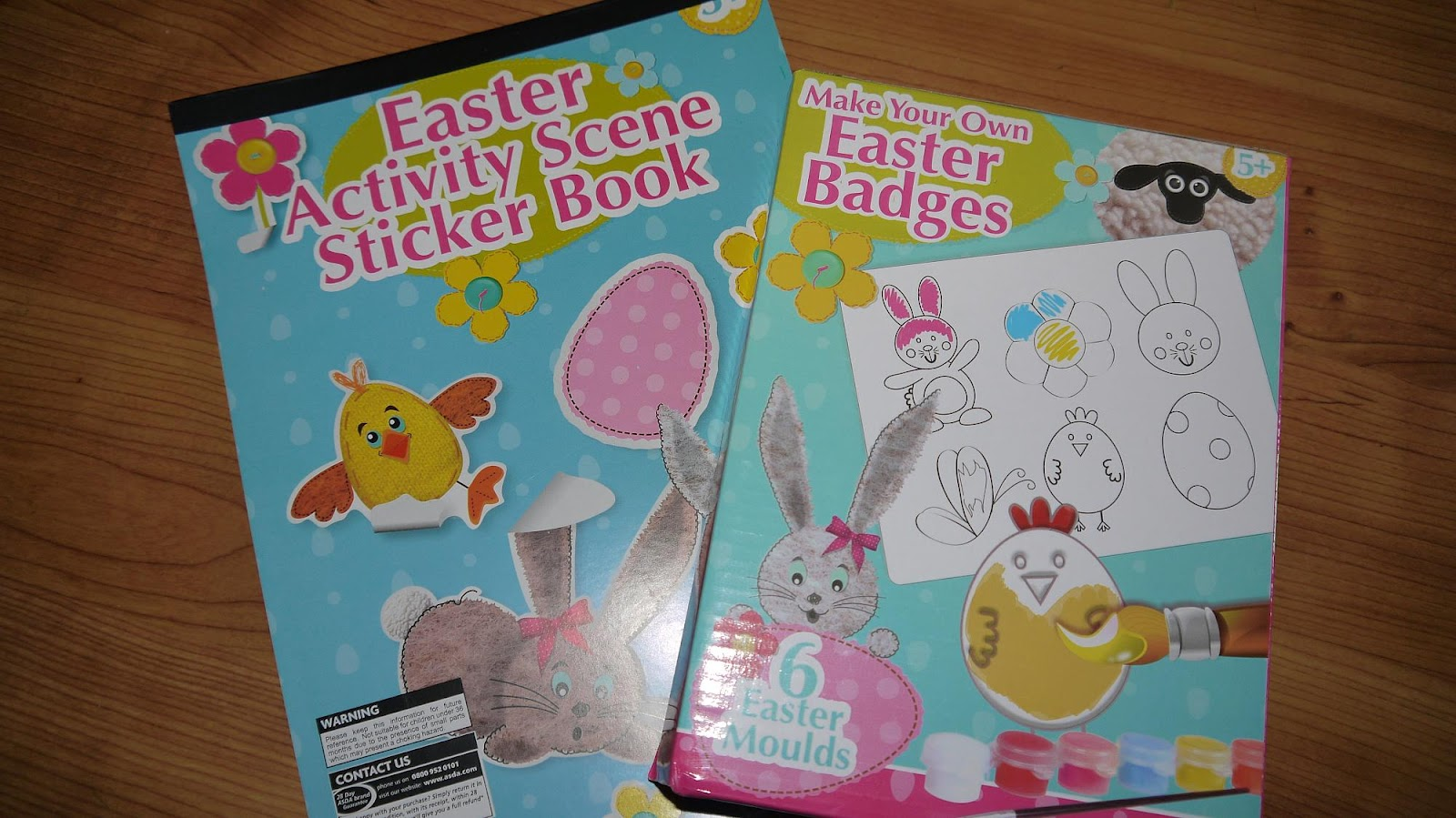 Inside the wendy house easter crafts at asda negle Images