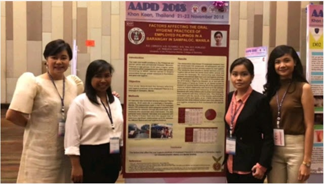 UPCD Students Bag Third Place in International Research Competition in Thailand