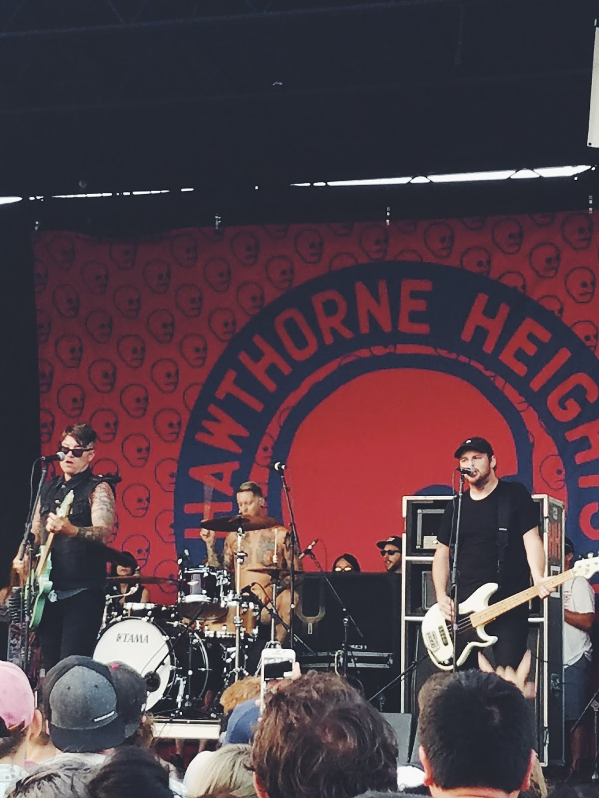 Courtney Tomesch Vans Warped Tour 2017 San Diego California Hawthorne Heights