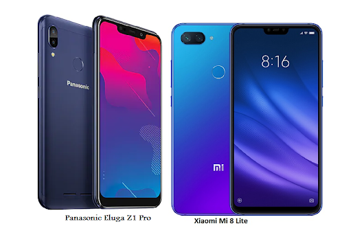 Xiaomi Mi 8 Lite Vs Panasonic Eluga Z1 Pro Full Specifications Comparisons