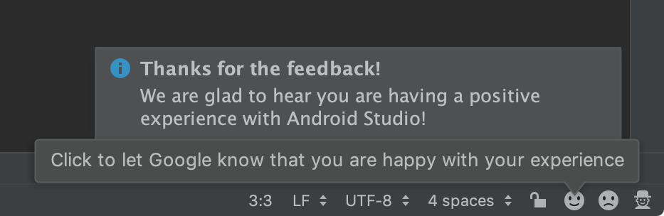 IDE User Feedback