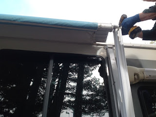 Taking Awning motor out