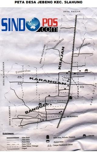 Profil Desa & Kelurahan, Desa Jebeng Kecamatan Slahung Kabupaten Ponorogo
