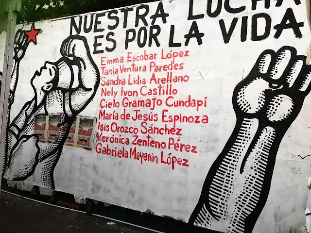 """Résultat de recherche d'images pour """"huelga de hambre enfermeras chiapas"""""""