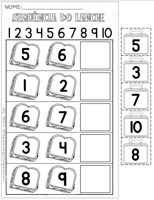 Blog Cantinho Alternativo Atividades De Alfabetizacao Matematica
