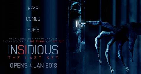 Sinopsis Film Insidious: The Last Key (2018) Beserta Daftar Pemain dan Trailer