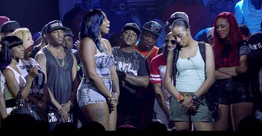 SMACK/URL: Ms Hustle Vs Gattas (Rap Battle)