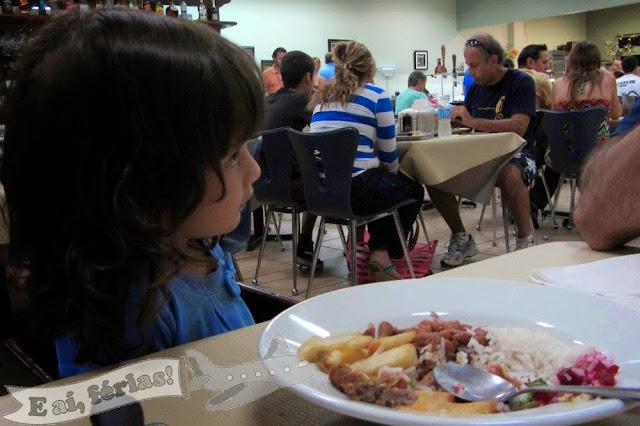 Almoço básico no Vittorio's