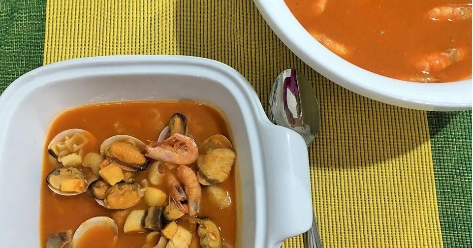 Entre salsas y guisos sopa de pescado rapida - Cocinar pescado congelado ...