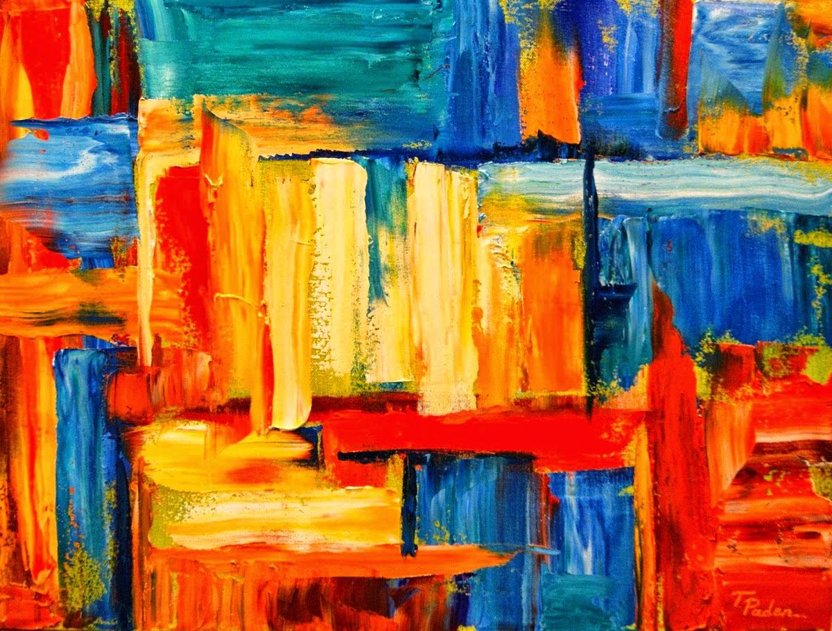 Lukisan Abstrak Hem