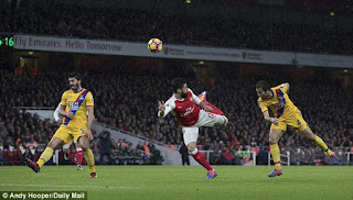 Olivier Giroud Opens Up About His Scorpion Strike Against Palace
