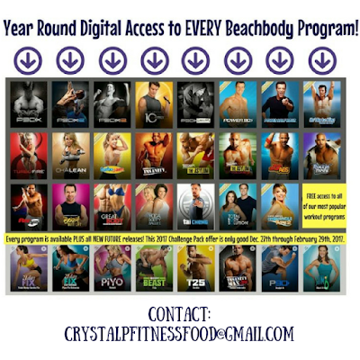 Annual All Access Beachbody on Demand Challenge Pack