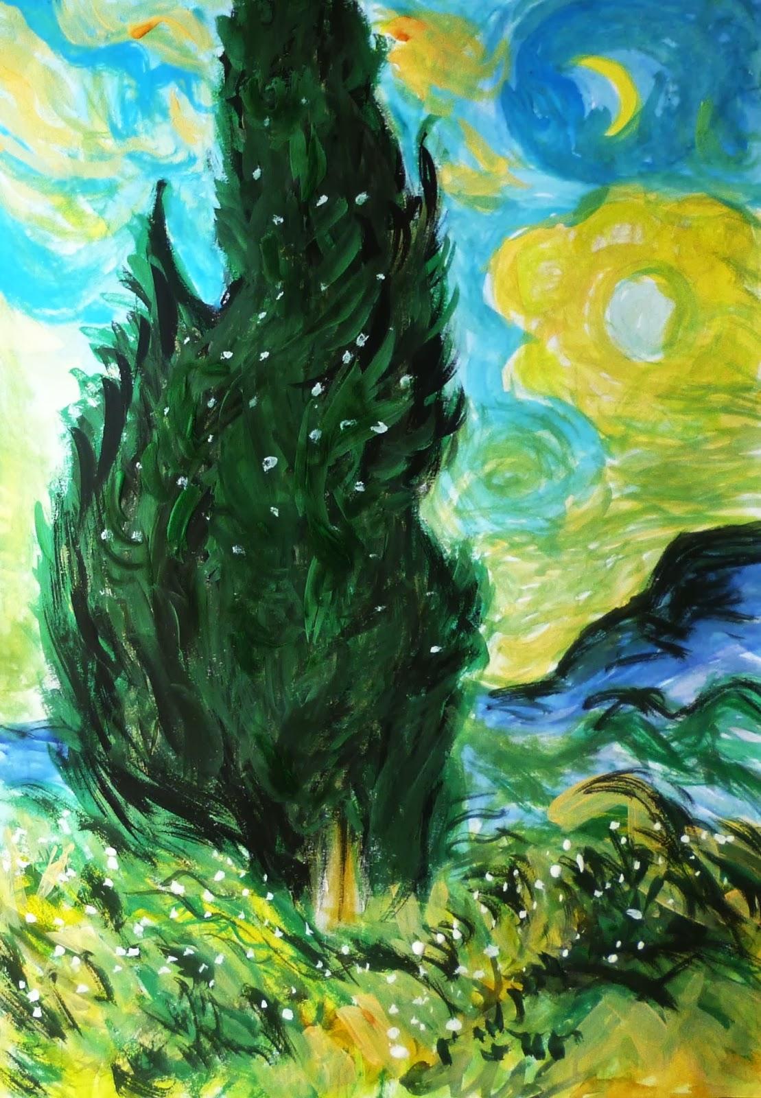 フィンセント・ファン・ゴッホlike Vincent van Gogh : ゴッホの「糸杉」