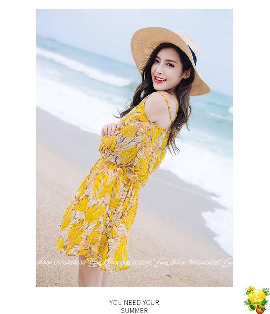 Cua hang ban vay maxi di bien tai Thuy Khue
