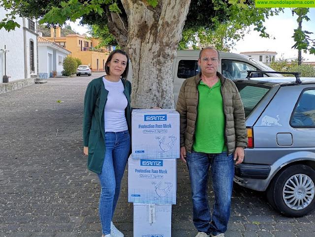 El Ayuntamiento de Fuencaliente adquiere 2.000 mascarillas FFP2 para distribuir entre toda su vecindad
