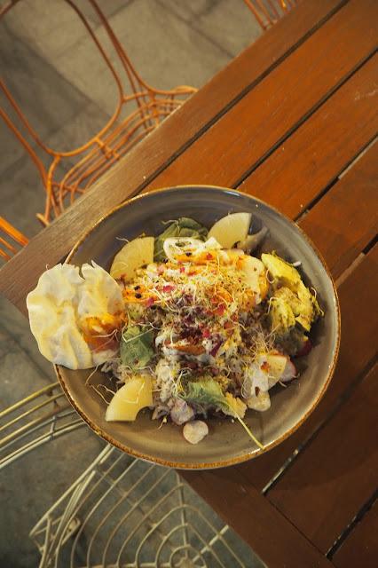 Muslim shrimp rice bowl santap cafe singapore