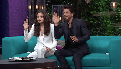 Shah Rukh Khan Alia Bhatt Koffee With Karan Quiz Season 5