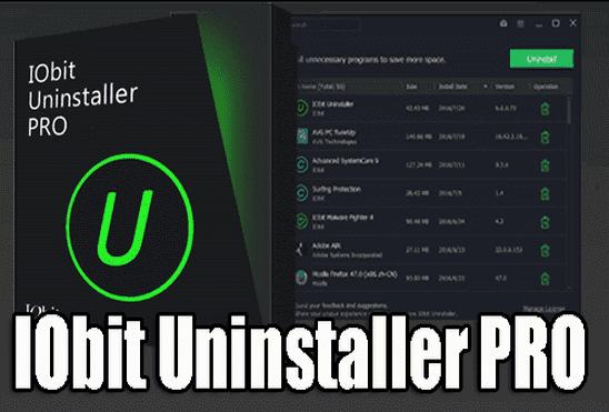تحميل برنامج IObit Uninstaller Pro 2019 كامل للكمبيوتر