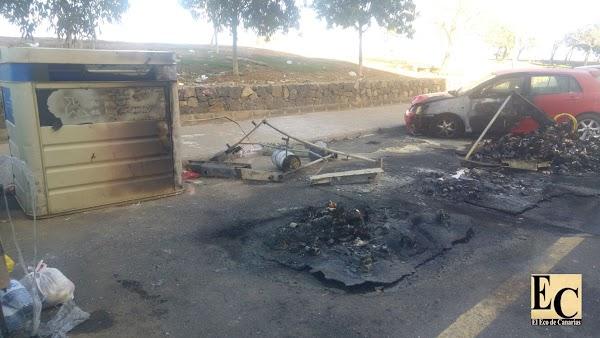 Detenidos por desorden público Valle Jinamar