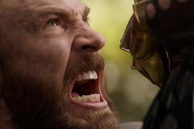 Capitão América em Vingadores: Guerra Infinita