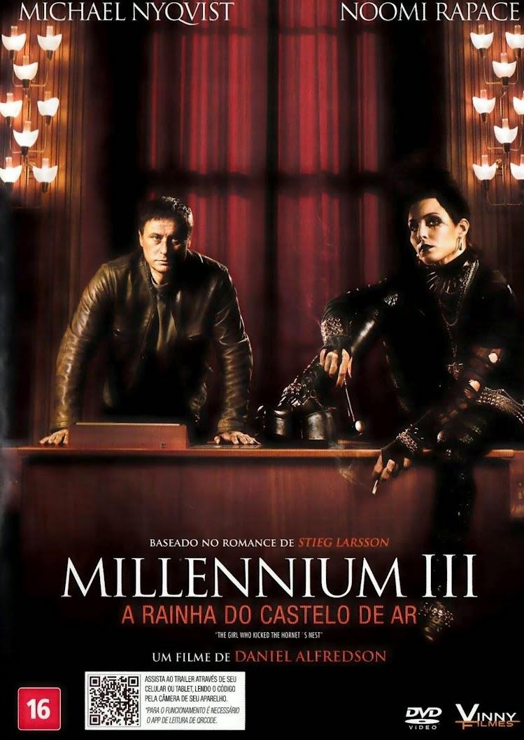 Resultado de imagem para Millennium 3 - A Rainha do Castelo de Ar