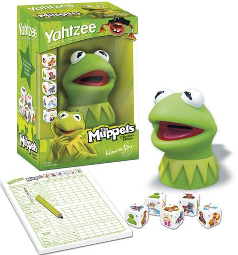 The Muppets Los Teleñecos La Rana Gustavo Triki El: Juego De Dados De La Rana Gustavo