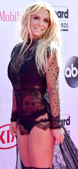 Foto de Britney Spears con cabello suelto