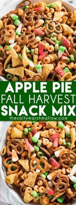 Apple Pie Fall Harvest Snack Mix