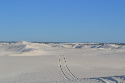 Padang Pasir Putih Lancelin, Perth