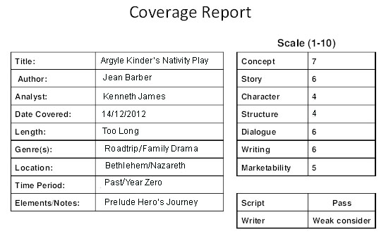 script coverage template - download free template for script coverage freewareim