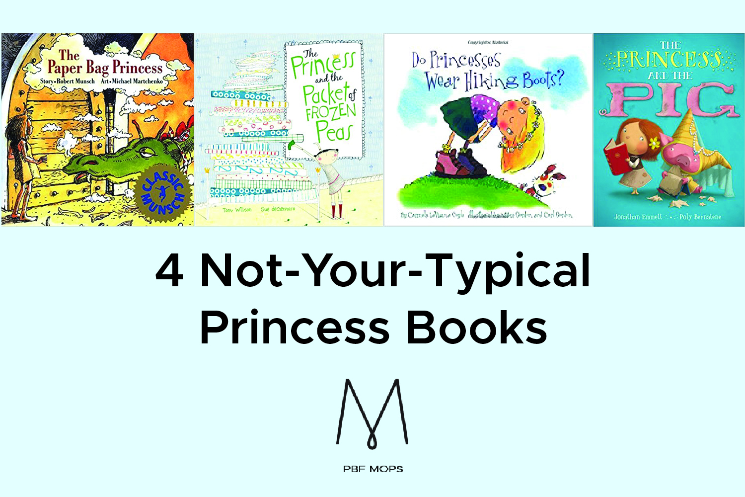 Children' Book Chat - 4 Not-Your-Typical Princess Books
