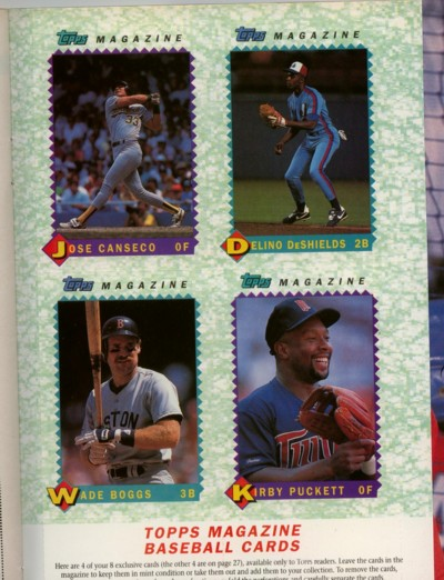 Joe Average Card Collector Remember This Topps Magazine
