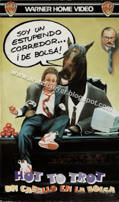 Hot to trot. Un caballo en la bolsa, Bobcat Goldthwait, Virgina Madsen, Dabney Coleman, Michael Dinner