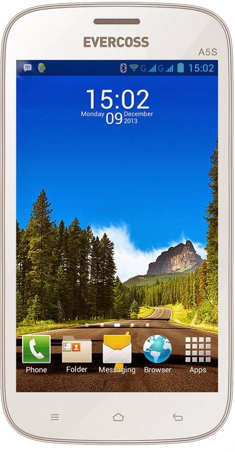 Evercoss A5S, Android Jelly Bean Dual Core Cuma 600 Ribuan