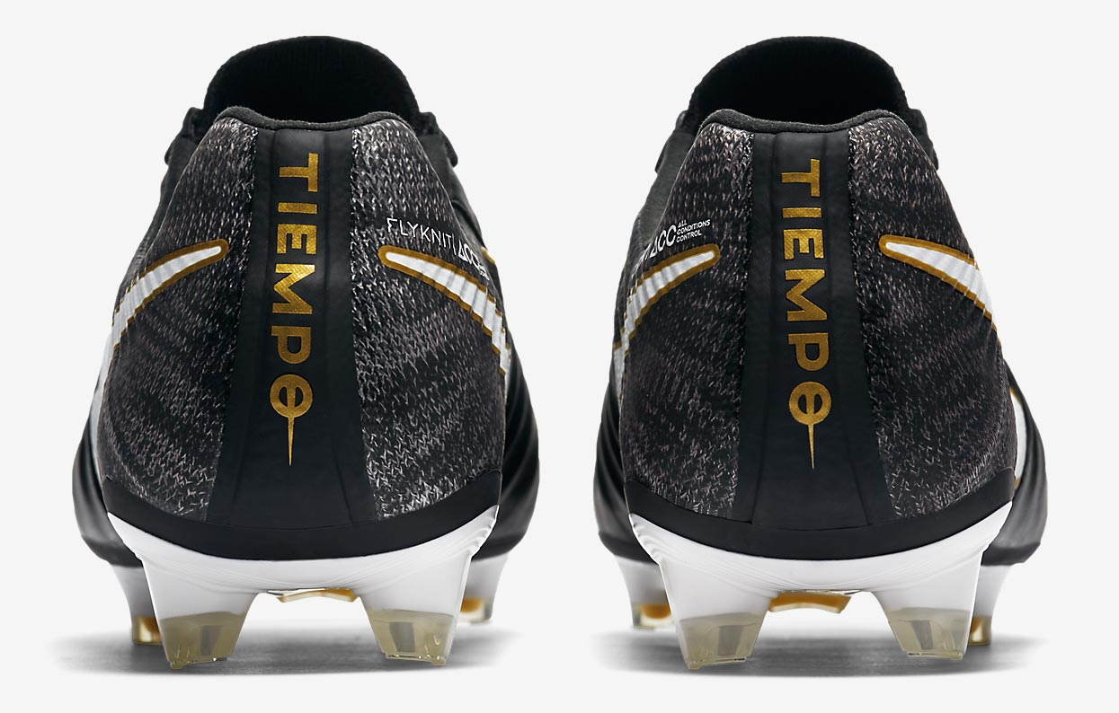 black white gold nike tiempo legend pitch dark boots. Black Bedroom Furniture Sets. Home Design Ideas