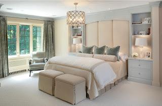 camera da letto lussuosa immagine