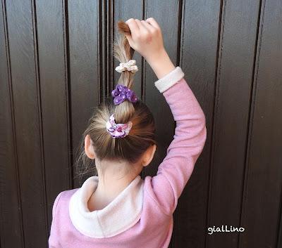 Tutorial: Haarschmuck für Girlies