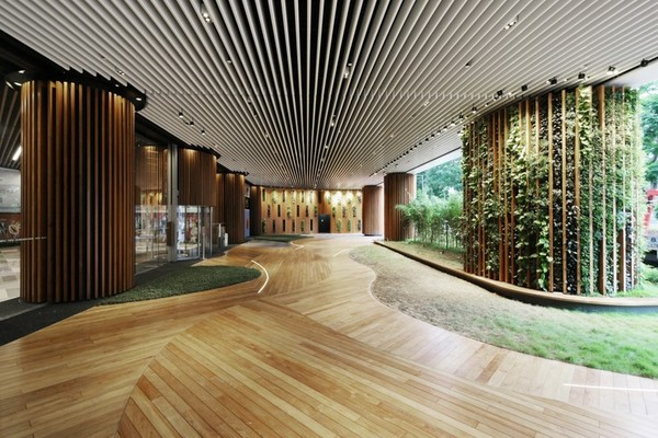 office building lobby design