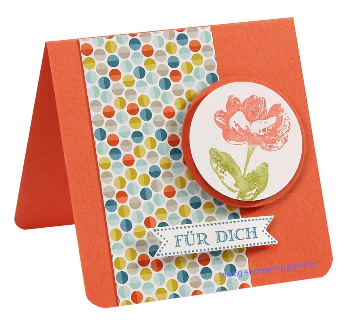 Famose Fähnchen, Karten, Oh hello, SAB, , Minicards
