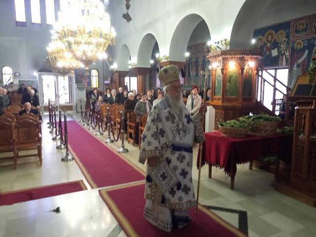 Θεσπρωτία: Η Κυριακή των Βαΐων εορτάστηκε πανηγυρικά στον Ιερό Μητροπολιτικό Ναό Αγίου Δονάτου Παραμυθιάς