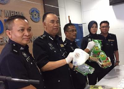 Drug bust, Malaysia