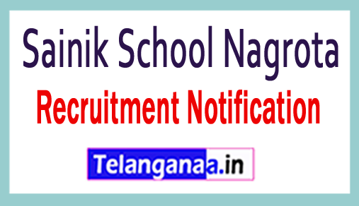 Sainik School Nagrota Recruitment