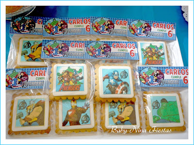 galletas decoradas avengers