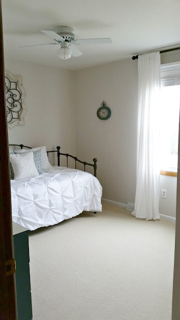 farmhouse bedroom update makeover