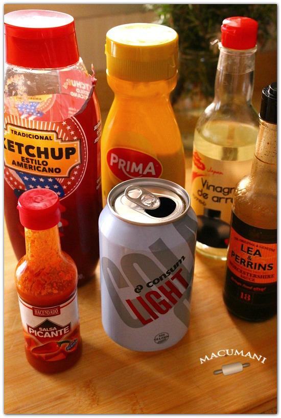 Salsa barbacoa facil con coca cola for Salsa barbacoa ingredientes