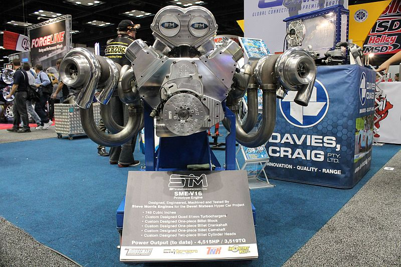 5000-hp, Quad-Turbo, 12.3 Liter V16 Is so Much more that what we Thought