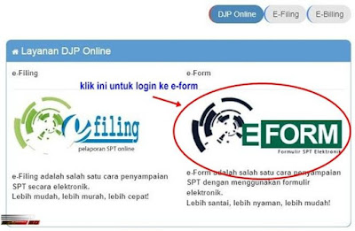 Login ke e-Form